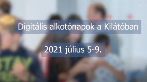 Digitális alkotónapok, 2021.07.5-9.