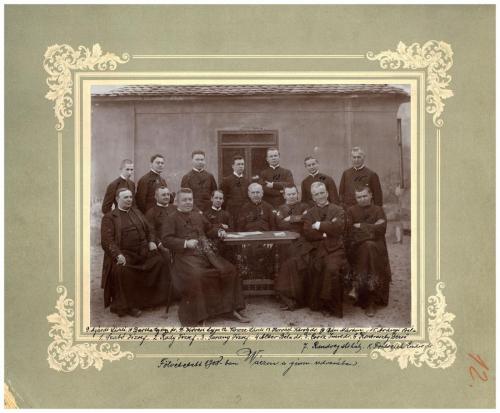 Piarista szerzetesek, 1907-1908