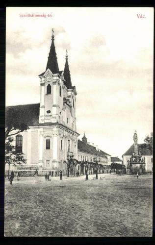 Váci Piarista Templom, 1909
