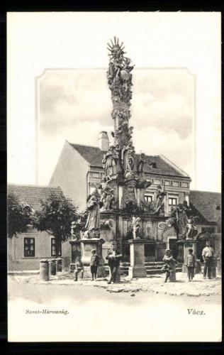 Szentháromság-oszlop, 1909