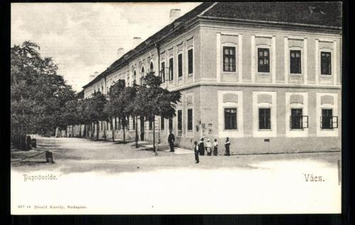 Váci Piarista Gimnázium, 1910