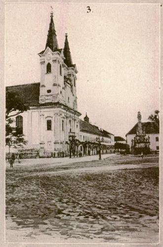Váci Piarista Templom, 1910
