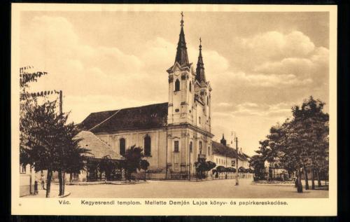 Váci Piarista Templom, 1920 körül