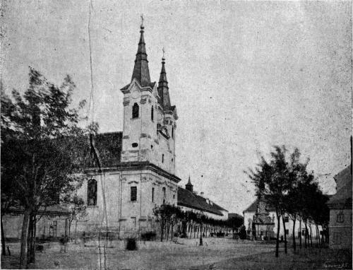 Váci Piarista Templom, 1928